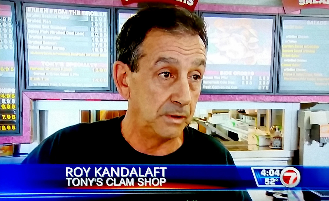 Roy on the News